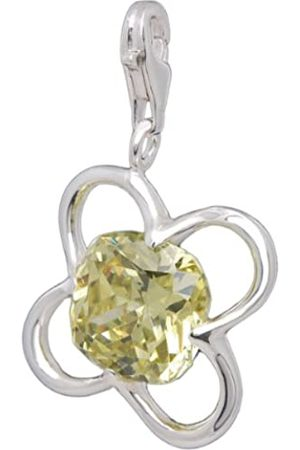Melina Damen-Charm Anhänger Kleeblatt 925 Sterling Silber 1801155