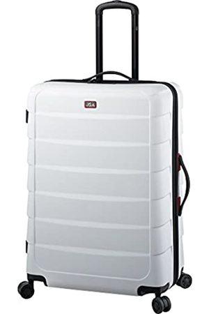 JSA Reisetrolley L, Rollkoffer aus ABS Kunststoff, Reisekoffer mit 4 doppelten 360° Leichtlaufrollen Koffer, 72 cm