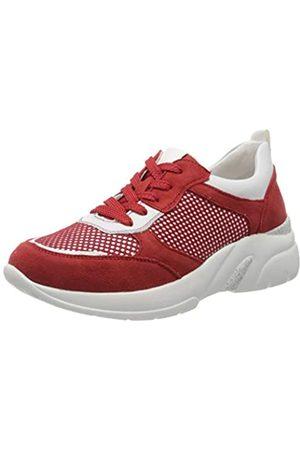Remonte Damen D4100 Sneaker, (Flamme/Bianco/Flamme 33)