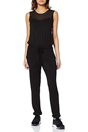Urban classics Damen Ladies Tech Mesh Long Jumpsuit