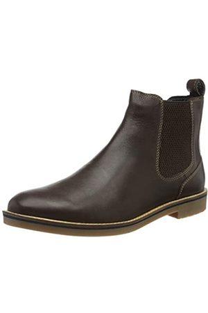 Joules Herren Bourne Chelsea Boots, (Dark Brown DKBROWN)