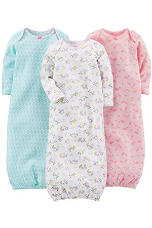 Simple Joys by Carter's 3-pack Cotton Sleeper Gown Nightgown Newborn