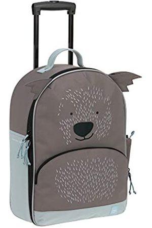 LÄSSIG Kinderkoffer Trolley Reisekoffer mit Teleskopstange und Rollen ab 3 Jahre/Trolley About Friends, Cali Wombat, 43 cm