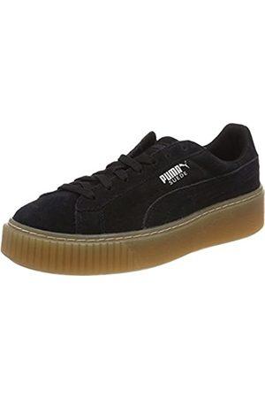 Puma Unisex-Kinder Platform Jewel J 365131-03 Sneaker, Black