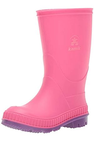 Kamik Mädchen Stomp Gummistiefel, Pink (Pink Pin)