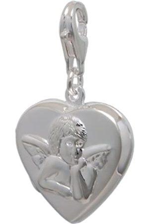 Melina Damen-Charm Anhänger Herz Medaillon 925 Sterling Silber 1801520