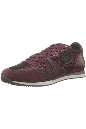 Pataugas Damen Idol/i F4e Sneaker, (Aubergine 601)