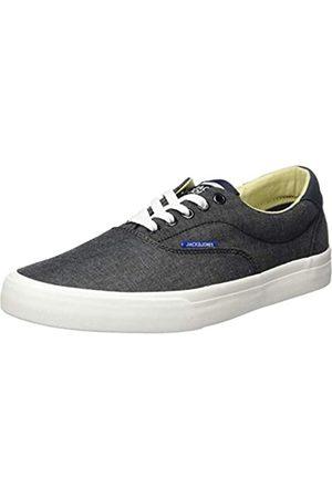 Jack & Jones Herren Jfwmork Chambray Sneaker, (Anthracite)