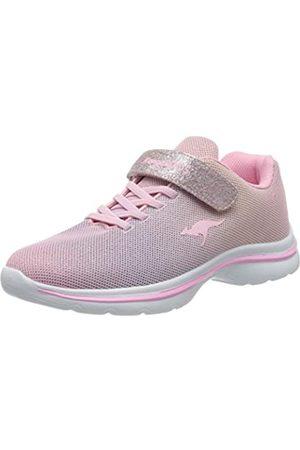 KangaROOS Unisex-Kinder Kangashine EV II Sneaker, (Frost Pink/Rainbow 6179)