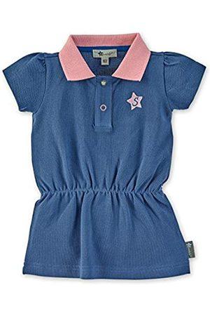 Sterntaler Polo-Kleid für Mädchen mit Raffung, Alter: 9-12 Monate, Größe: 80