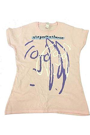 John Lennon Damen Give Peace A Chance T-Shirt