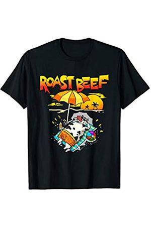 Wowsome! Roast Beef Cow On Beach Vacation Sun Tan Kids Men Women T-Shirt