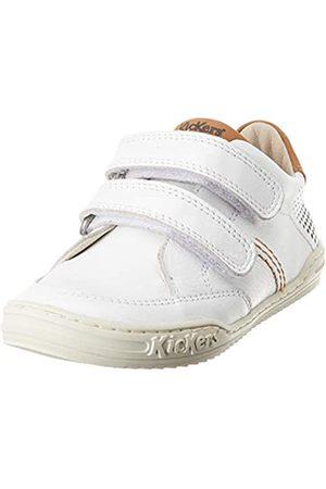 Kickers Jungen Jouo Sneaker, (Blanc Camel 33)