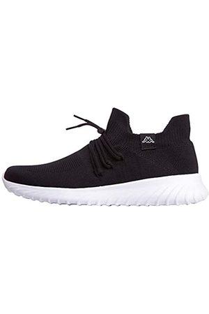 Kappa Unisex-Erwachsene ZUC Sneaker, (Black/White 1110)