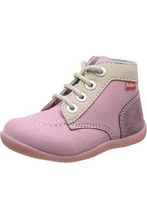 Kickers Unisex Baby Bonbon-2 Stiefel, Pink (Rose Tricolore 132)