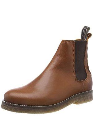 Sneaky Steve Damen Tanner Chelsea Boots, (Cognac A5682a)