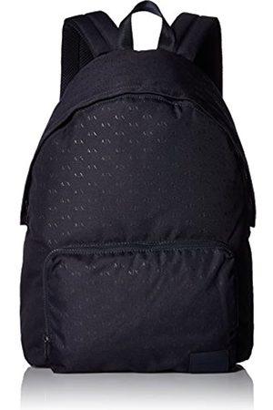 Armani Herren Logo Silver Backpack Rucksäcke