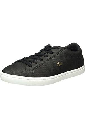 Lacoste Damen Straightset 316 3 Sneaker, (BLK 024)