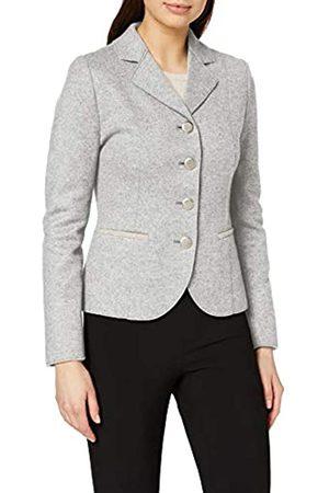 Giesswein Walk Jacke Emma - edler Damen Blazer aus 100% Filz-Wolle, eleganter Frauen Janker mit taillierter Schnittführung