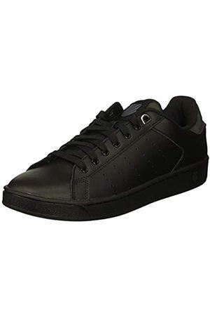 K-Swiss Damen CLEAN Court CMF Sneaker, (Black/Charcoal 006)