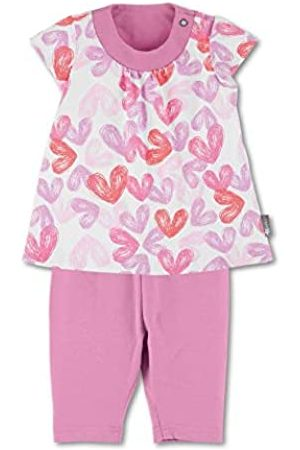Sterntaler Baby-Mädchen Tunic with Capri Leggings Kleid