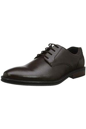 Hotter Herren Eaton Oxfords, (Dark Brown 17)