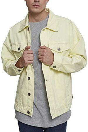 Urban classics Herren Oversize Garment Dye Jacket Jeansjacke