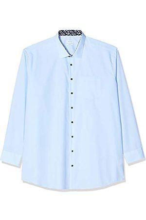 Seidensticker Herren Einfarbiges Hemd mit hohem Kent-Kragen – Passform Regular Fit – Langarm – 100% Baumwolle Businesshemd