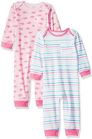 Amazon Baby Mädchen Overall, 2er-Pack