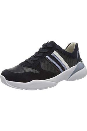 Semler Damen Uschi Sneaker, Mehrfarbig (Mid.Bl-Ocean-Wolke-Weiss 389)