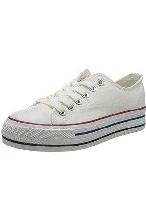 Refresh Damen 69656 Sneakers, (Blanco Blanco)