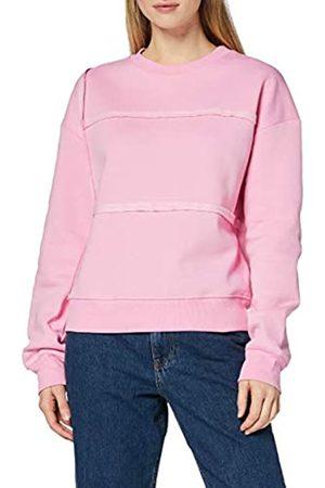 FIND Damen Sweatshirt mit dekorativen Nähten
