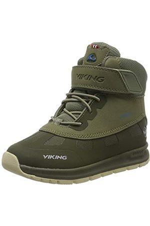 Viking Unisex-Kinder Ted GTX Schneestiefel, (Olive/Olive 3737)