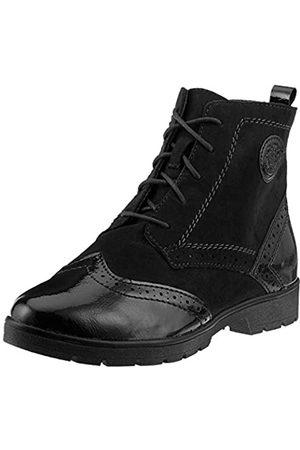 Soft Line Damen 25265-21 Combat Boots, (Black 001)