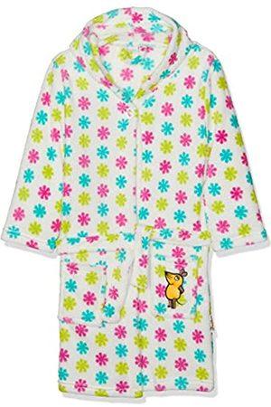 Playshoes Kinder Fleece-Bademantel mit Kapuze, flauschiger Morgenmantel für Mädchen, die Maus