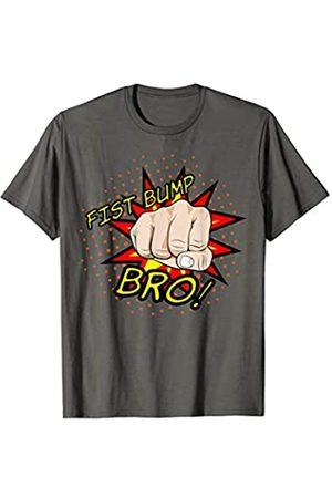 green little vegan Fist Bump Bro Comic Style Cool T-Shirt