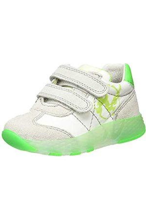 Naturino Jungen JESKO VL. Sneaker, (Bianco-Verde Fluo 1N18)