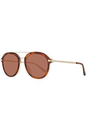 GANT Herren GA7100 Sonnenbrille, (Havana/Other/Brown)