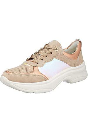 ARA Damen Roma Sneaker, (Camel, Rosegold/ 05)