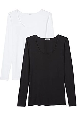 Daily Ritual Jersey Long-Sleeve Scoop Neck T-Shirt