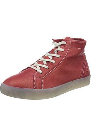 softinos Damen SALI583SOF Hohe Sneaker, (Red 004)