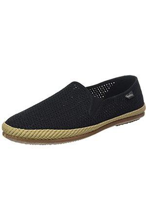 Wamba By Victoria Unisex-Erwachsene Copete Elásticos Rejilla Sneaker, (Negro)