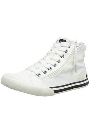 Rocket Dog Damen Jazzin Hi Hohe Sneaker, (12a Canvas White J00)