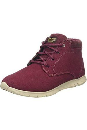 Regatta Damen Marine' Suede Leather Isulated Shoes Kurzschaft Stiefel, (Burgundy/Warm Un4)