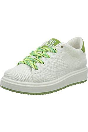 Primigi Jungen Scarpa Bambino Sneaker, (Bianco/Brown 5375500)