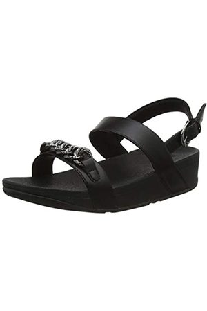 FitFlop Damen Lottie Twisted Chain Sandalen, (All Black 090)