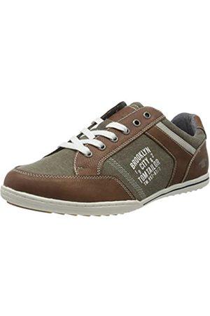 TOM TAILOR Herren 805100330 Sneaker, (Cognac 00205)
