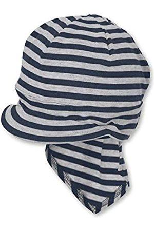 Sterntaler Unisex Baby Piratentuch mit Nackenschutz Mütze