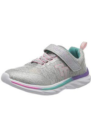 TOM TAILOR Mädchen 8071804 Sneaker, (Grey 00011)
