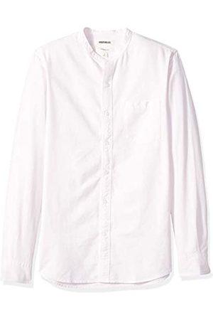 Goodthreads Amazon-Marke: Herren-Oxford-Shirt, Langarm, schmale Passform, mit Stehkragen